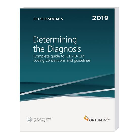 Picture of ICD-10 Essentials: Determining the Diagnosis-Ebook-2019