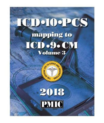 Picture of ICD-10-PCS 2018 MAPPING BOOK