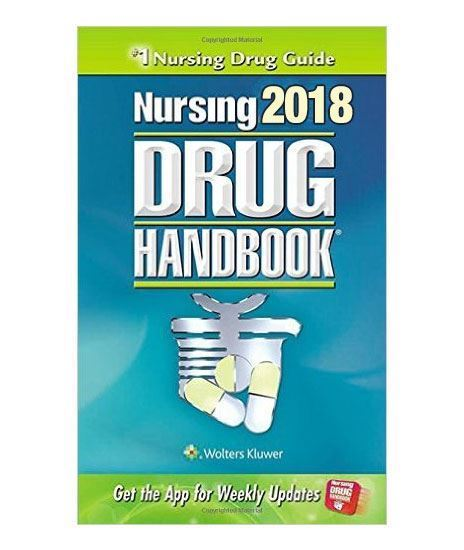 Picture of NURSING DRUG HANDBOOK 2018