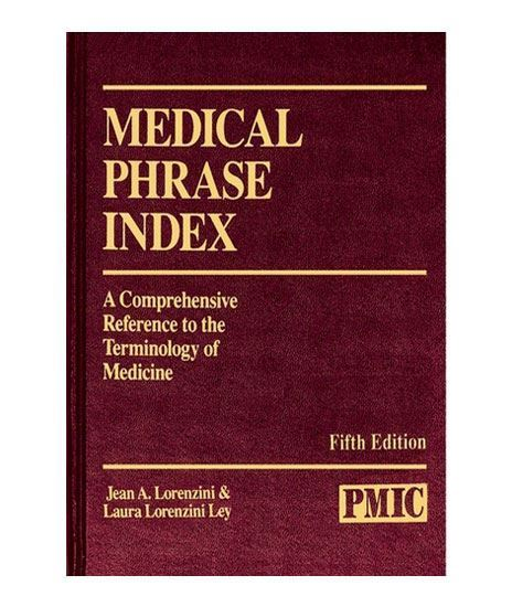 Picture of MEDICAL PHRASE INDEX