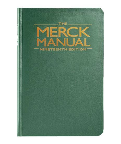Picture of MERCK MANUAL