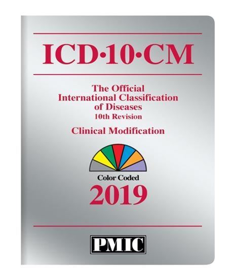 Picture of ICD-10-CM 2019 BOOK