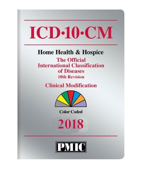 Picture of 2018 ICD-10-CM QUICK CODER CARD/HOME HEALTH