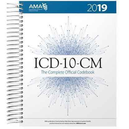 Picture of ICD-10-CM 2019 The Complete Official Codebook with Guideline Booklet - Early Delivery