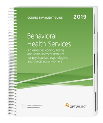 Picture of Coding and Payment Guide for Behavioral Health Services-2019