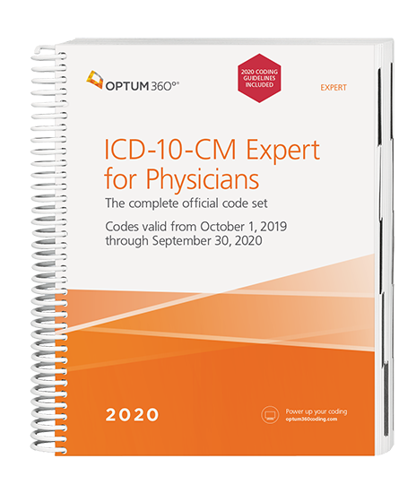 2020 ICD-10-CM Expert for Physicians with Guidelines (Spiral)