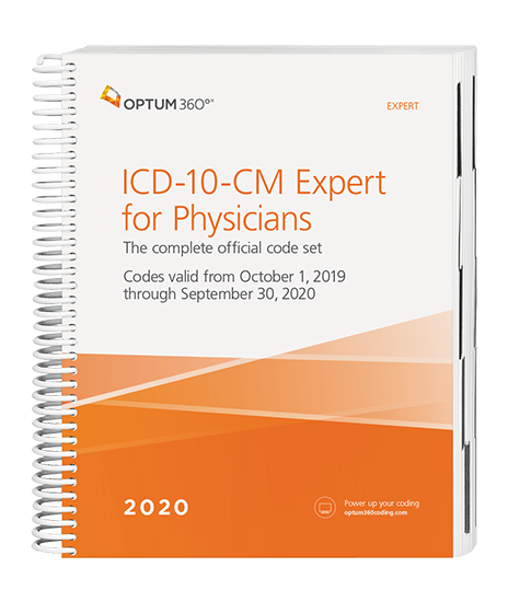 Picture of ICD-10-CM Expert for Physicians - (Spiral) without guidelines