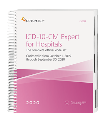 2020 ICD-10-CM Expert for Hospitals (Spiral) without Guidelines
