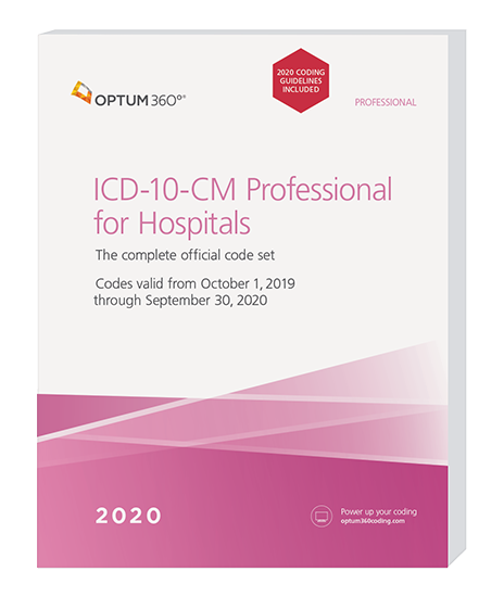 Picture of ICD-10-CM Professional for Hospitals - (Softbound) without guidelines