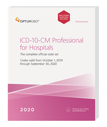 Picture of ICD-10-CM Professional for Hospitals - eBook - with guidelines