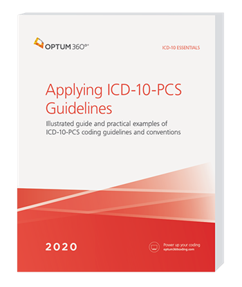 Picture of ICD-10 Essentials: Applying ICD-10-PCS Guidelines - eBook