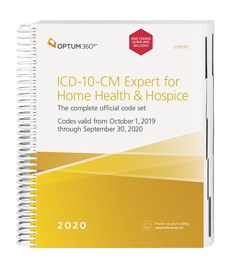 Picture of ICD-10 Expert for Home Health and Hospice - with guidelines (Spiral)
