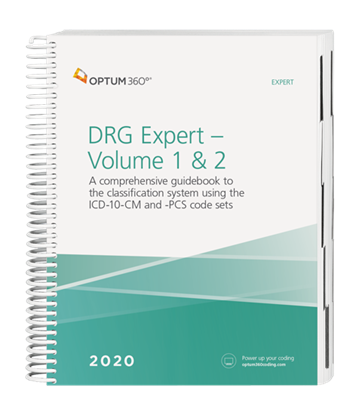 Picture of DRG Expert - (2 Volume set, shrink wrapped)