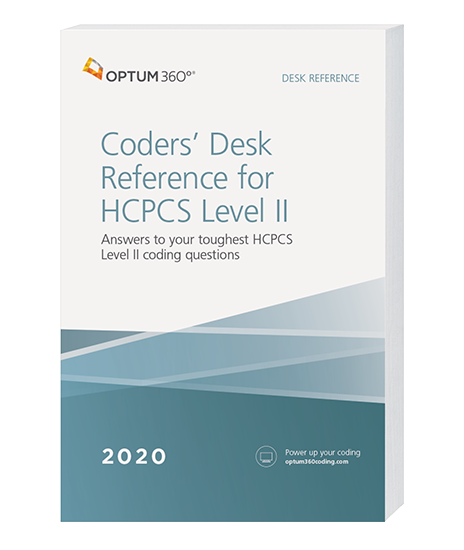 Picture of Coders' Desk Reference for HCPCS Level II