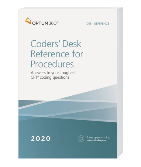 Picture of Coders' Desk Reference for Procedures 2020