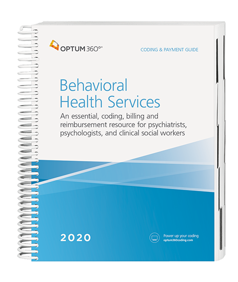 2020 Coding and Payment Guide for Behavioral Health Services