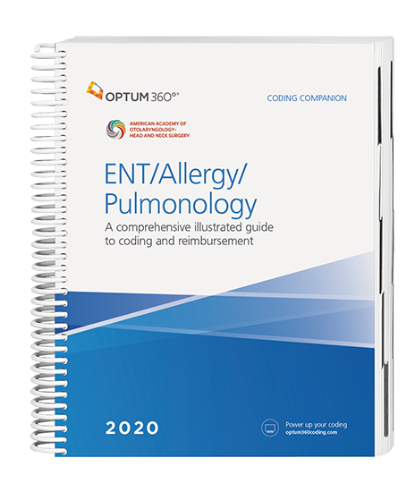 2020 ENT/Allergy/Pulmonology | Coding Companion