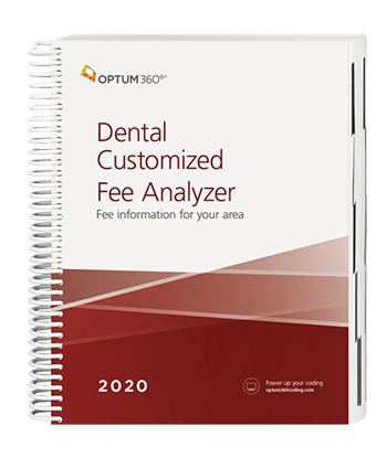 Picture of Dental Customized Fee Analyzer - Two Specialty