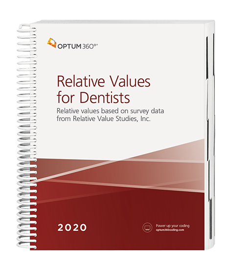 Picture of Relative Values for Dentists - (Spiral)