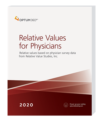 Picture of Relative Values for Physicians - (Softbound)