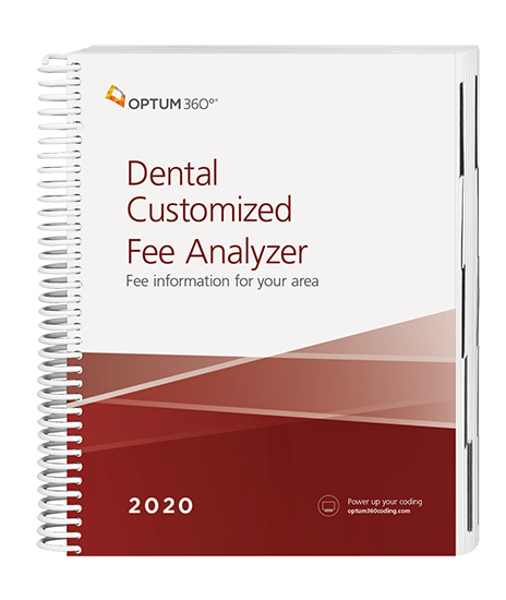 Picture of Dental Customized Fee Analyzer - One Specialty  eBook