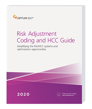 Picture of Risk Adjustment Coding and HCC Guide - eBook