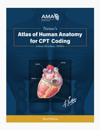 Picture of Netter's Atlas of Human Anatomy for CPT Coding, third edition