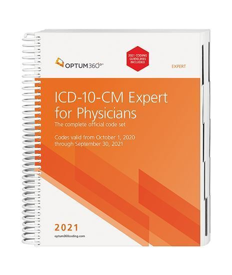 Picture of ICD-10-CM Expert for Physicians - (Spiral) with guidelines
