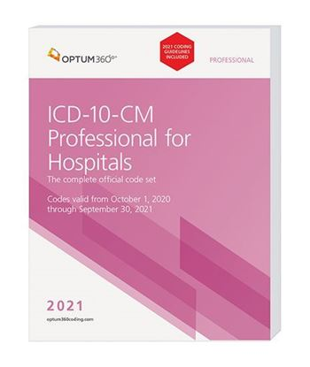 Picture of ICD-10-CM Professional for Hospitals - (Softbound) with guidelines