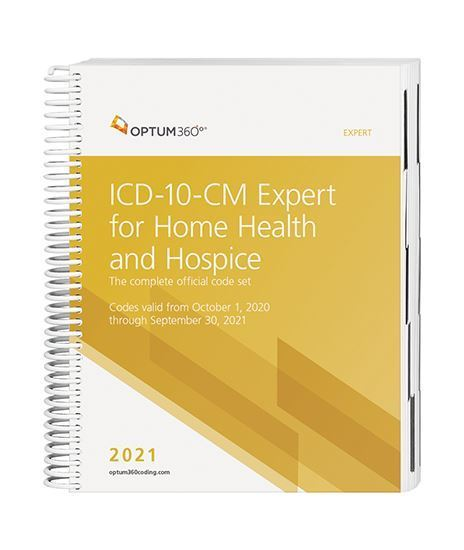 Picture of ICD-10 Expert for Home Health and Hospice - without  guidelines (Spiral)