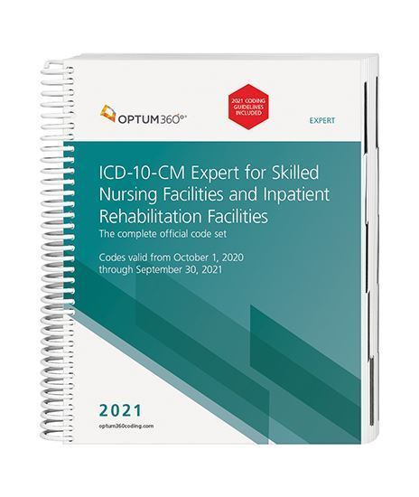 Picture of ICD-10 Expert for SNF and IRF - with guidelines (Spiral)