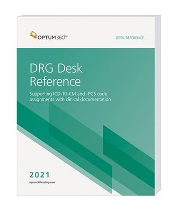 Picture of 2021 DRG Desk Reference