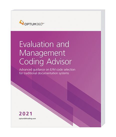 Picture of 2021 Evaluation and Management Coding Advisor