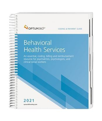 Picture of 2021 Coding and Payment Guide for Behavioral Health Services