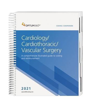 Picture of 2021 Coding Companion® for Cardiology/Cardiothoracic/Vascular Surgery
