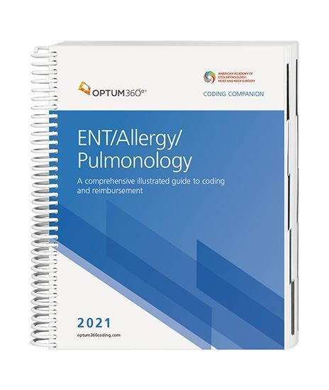 Picture of 2021 Coding Companion® for ENT/Allergy/ Pulmonology