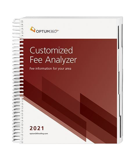 Picture of 2021 Customized Fee Analyzer - Two Specialty