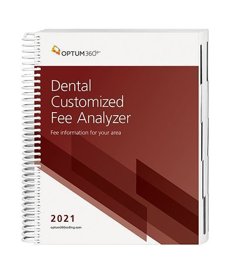 Picture of 2021 Dental Customized Fee Analyzer - Two Specialty