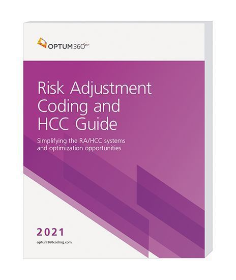 Picture of 2021 Risk Adjustment Coding and HCC Guide