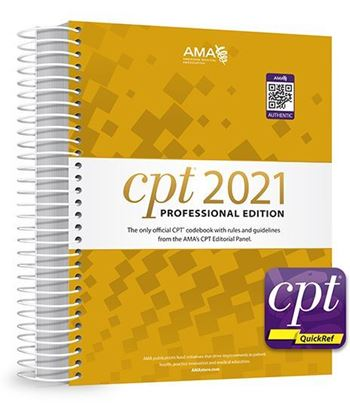 Picture of CPT Professional 2021 and CPT QuickRef APP Bundle