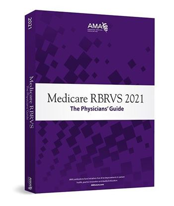 Picture of Medicare RBRVS 2021: The Physicians' Guide