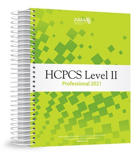 Picture of HCPCS Level II 2021 Professional Edition