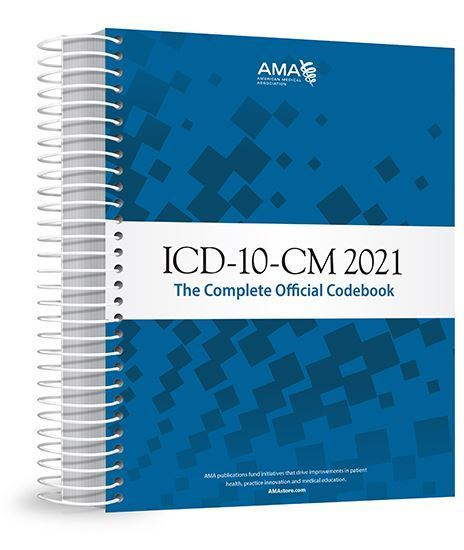Picture of ICD-10-CM 2021 The Complete Official Codebook with Guidelines