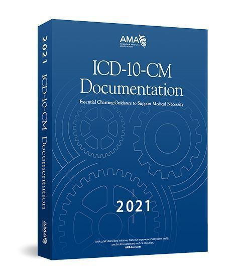 Picture of ICD-10-CM Documentation 2021