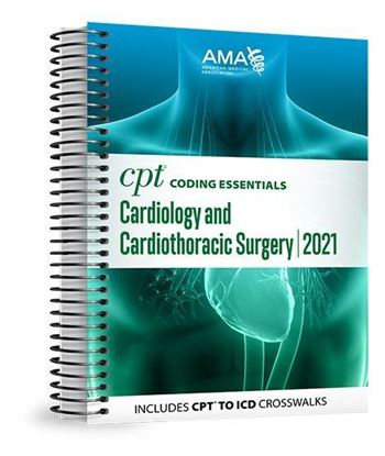 Picture of CPT Coding Essentials for Cardiology 2021