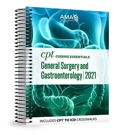 Picture of CPT Coding Essentials for General Surgery and Gastroenterology 2021