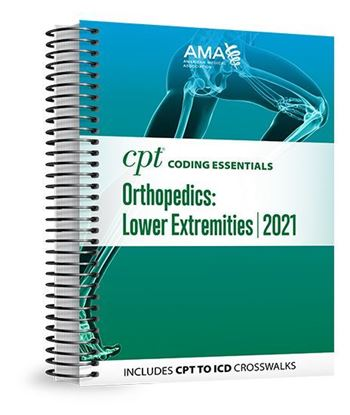 Picture of CPT Coding Essentials for Orthopaedics Lower 2021