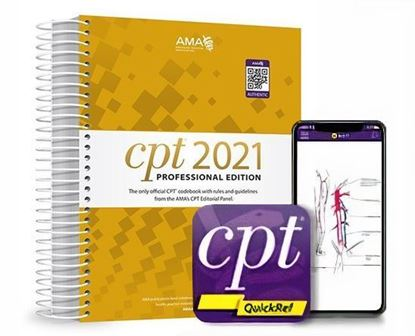 Picture of CPT® 2021 Professional Edition and CPT® QuickRef App Package