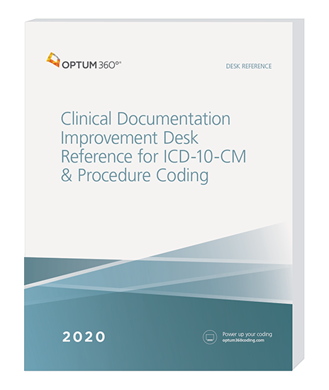 Picture of 2020 Clinical Documentation Improvement Desk Reference for ICD-10-CM & Procedure Coding